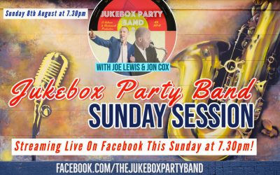 Facebook Live Stream Show | Sunday 8th August at 7.30pm